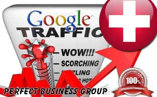 Organic traffic from Google. ch Switzerland with your Keyword