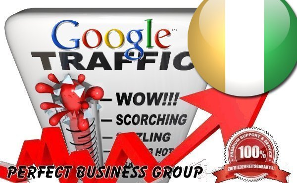 Organic traffic from Google. ci Cô te d'Ivoire with your Keyword