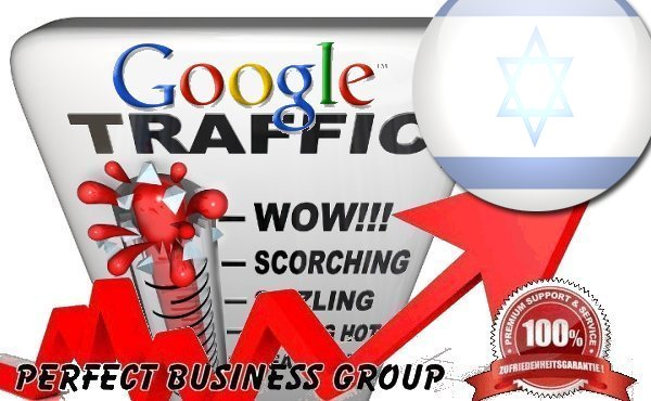 Organic traffic from Google. co. il Israel with your Keyword