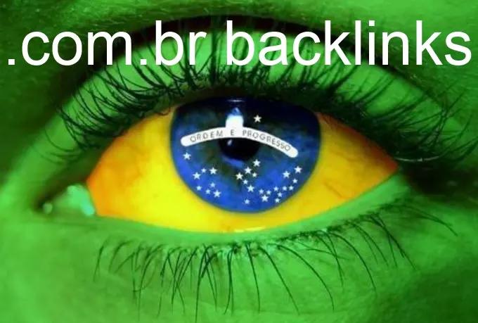do 150 Backlinks On Brazilian Com Br Blog Domains