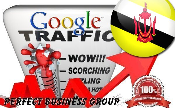 Organic traffic from Google.com.bn (Brunei Darussalam) with your Keyword