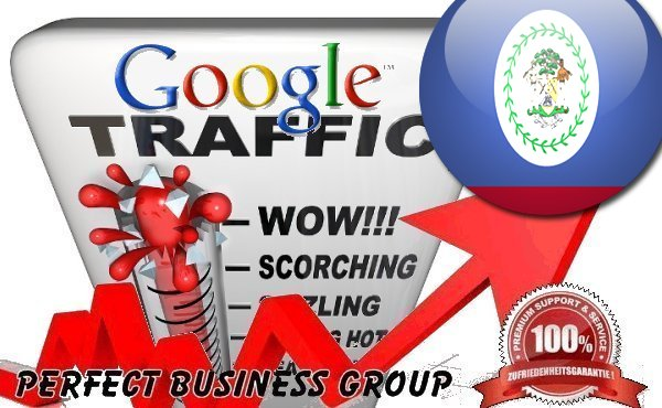 Organic traffic from Google. com. bz Belize with your Keyword