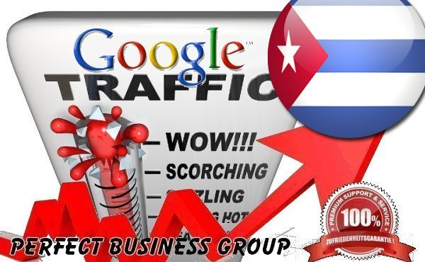 Organic traffic from Google. com. cu Cuba with your Keyword