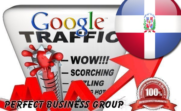 Organic traffic from Google. com. do Dominican Republic with your Keyword