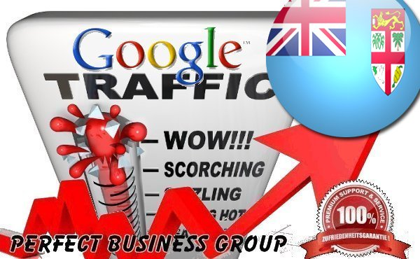 Organic traffic from Google. com. fj Fiji with your Keyword
