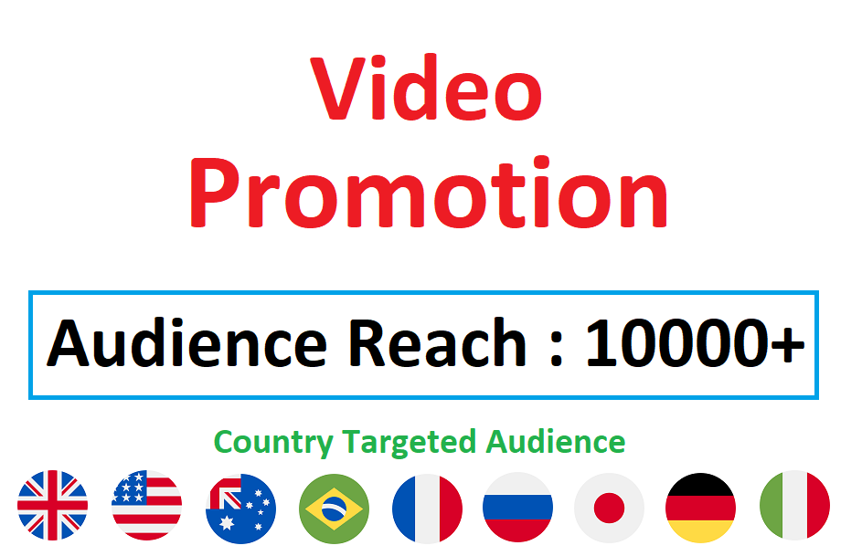 Country Targeted Viral Video Promotion