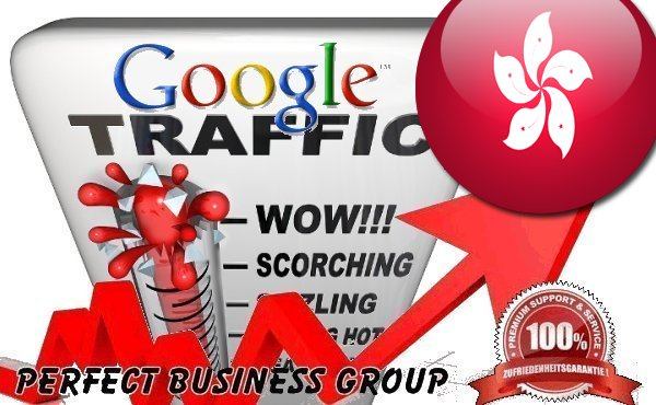 Organic traffic from Google. com. hk Hongkong