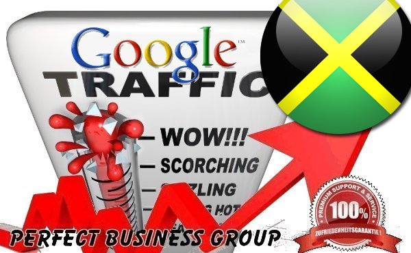 Organic traffic from Google. com. jm Jamaica