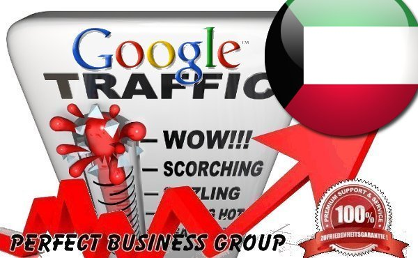 Organic traffic from Google. com. kw Kuwait