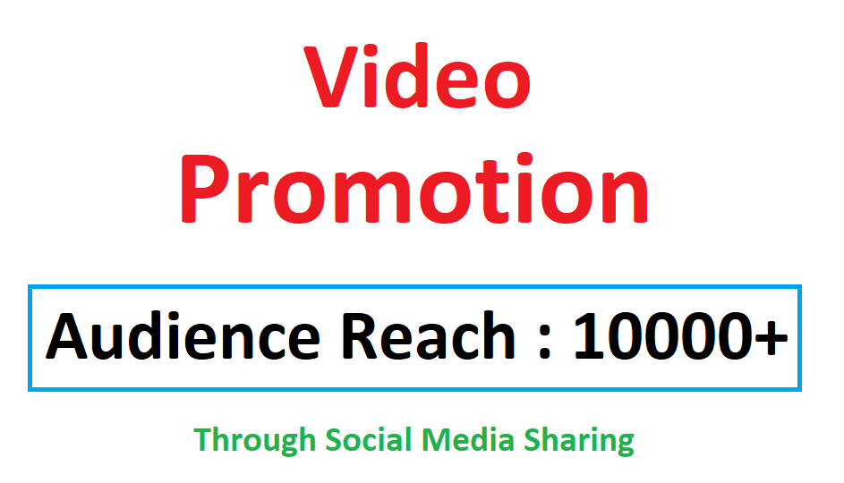 Video Viral Marketing Promotion 10k