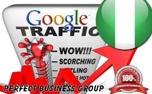 Organic traffic from Google. com. ng Nigeria