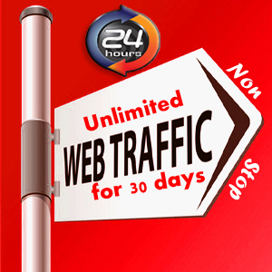 UNLIMITED HUMAN TRAFFIC BY Google Facebook Twitter Youtube Pinterest etc to web site for 30 days