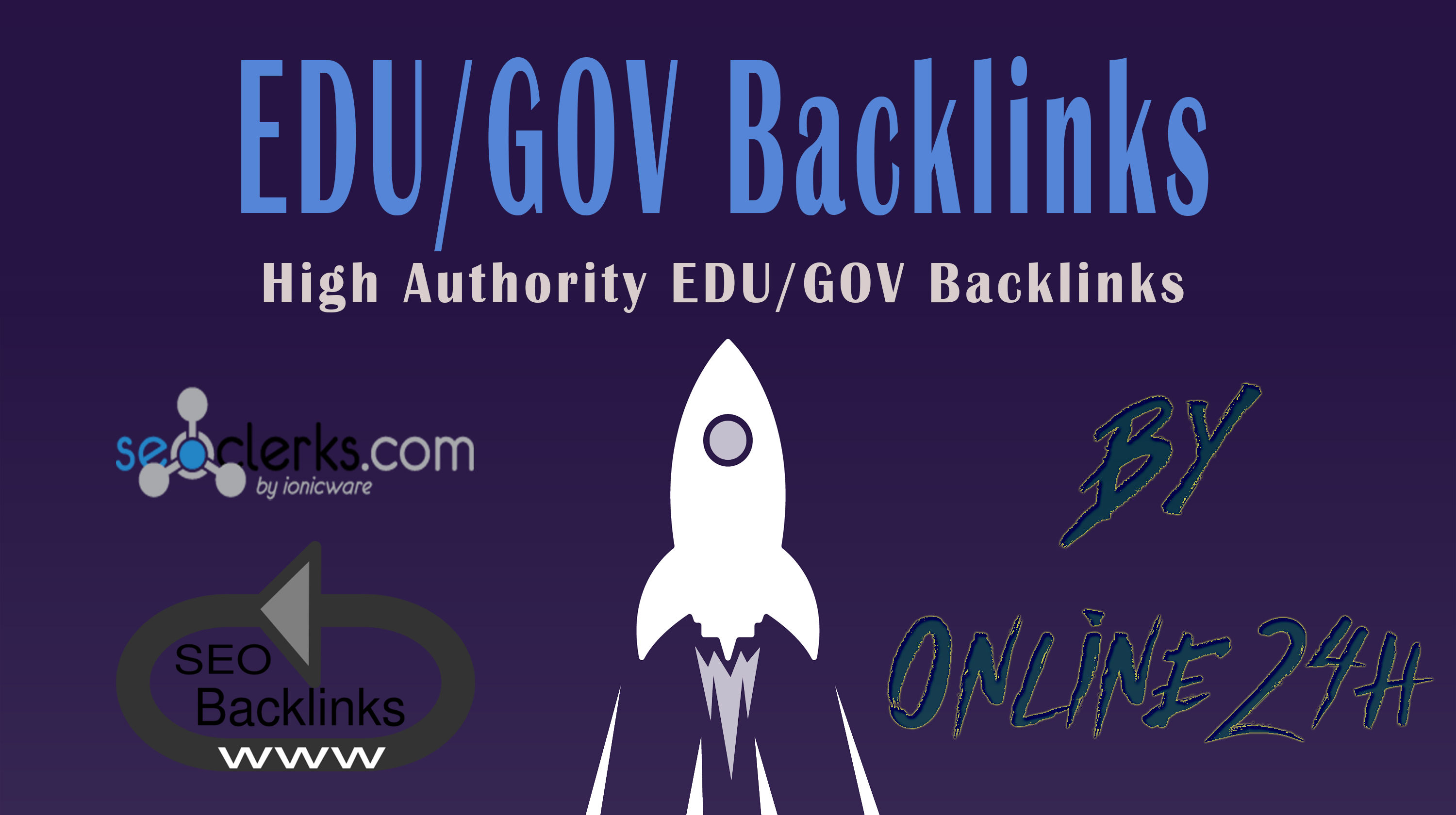 20+. EDU/. GOV Backlinks From Authority Domains only