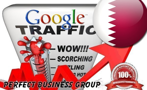 Organic traffic from Google. com. qa Qatar with your Keyword