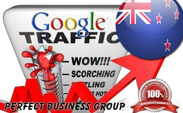 Organic traffic from Google. co. nz New Zealand with your Keyword
