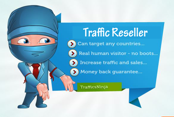 SUPER DUPER DEAL - Become a Website Traffic Reseller in 24 hours + 2000 Targeted Traffic