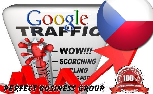 Organic traffic from Google. cz Czech Republic with your Keyword