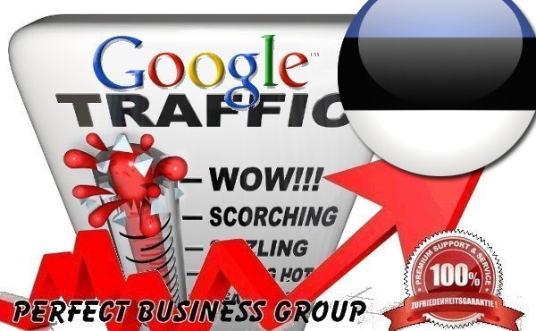 Organic traffic from Google. ee Estonia with your Keyword