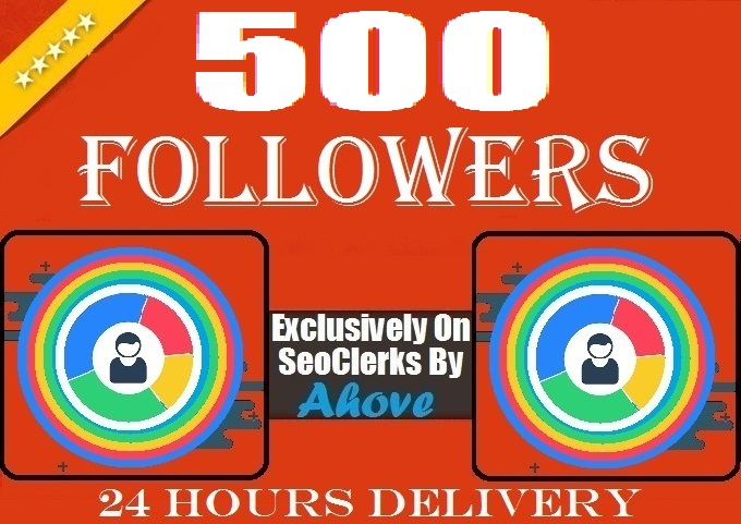 Get Instant 500 Followers To Social Profile
