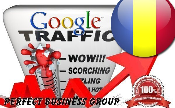 Organic traffic from Google. ro Romania with your Keyword