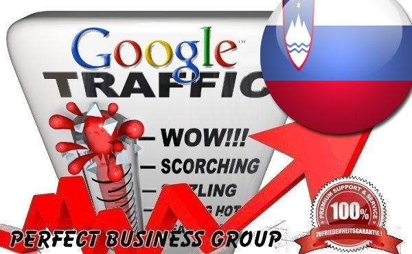 Organic traffic from Google. si Slovenia with your Keyword