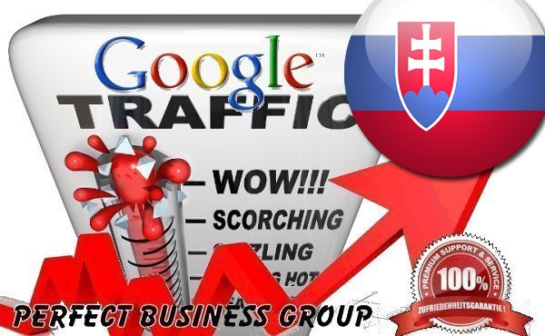 Organic traffic from Google. sk Slovakia with your Keyword