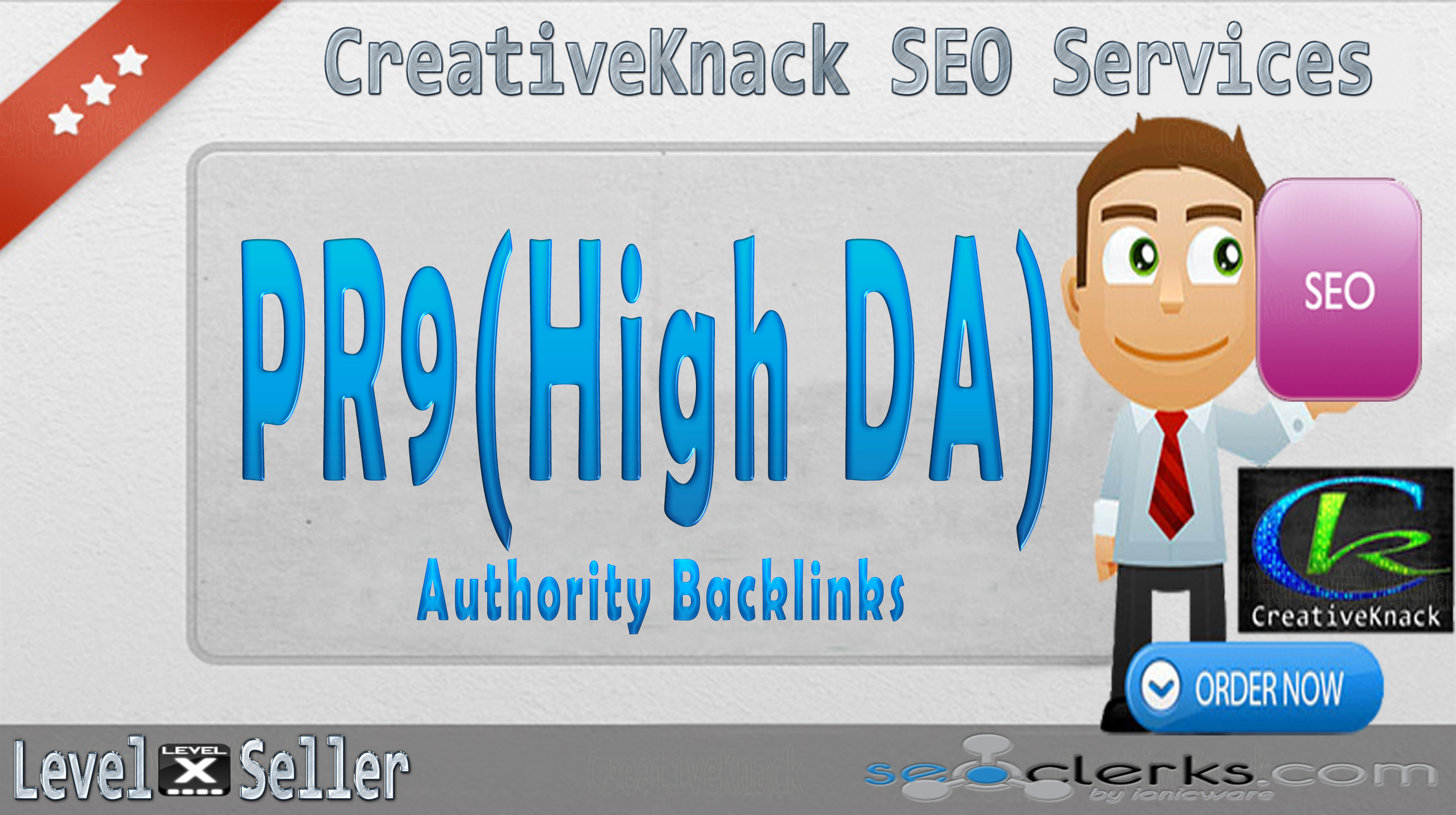 40+ PR9 High Authority Backlinks only