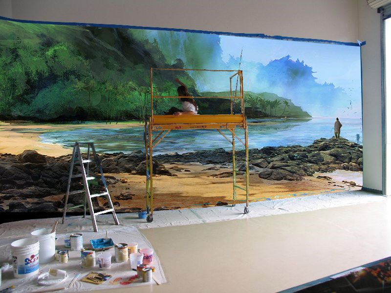 Hand Painted Murals For Home & Business For $100