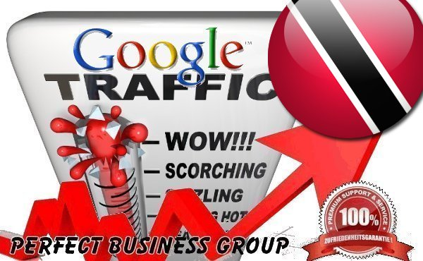 Organic traffic from Google. tt Trinidad and Tobago with your Keyword