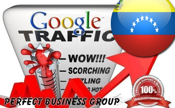 Organic traffic from Google. co. ve Venezuela with your Keyword