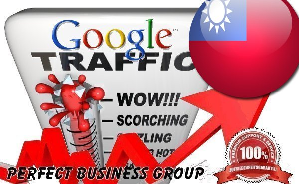 Organic traffic from Google. com. tw Taiwan with your Keyword