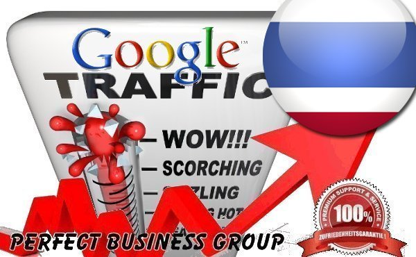 Organic traffic from Google. co. th Thailand with your Keyword