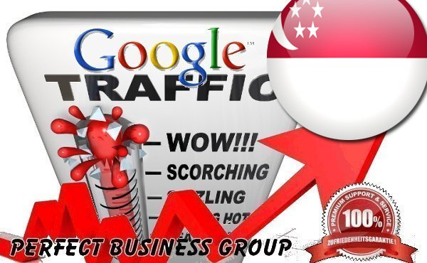 Organic traffic from Google. com. sg Singapore with your Keyword