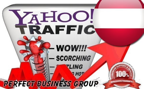 Organic Visitors from Yahoo AT Austria with your Keyword