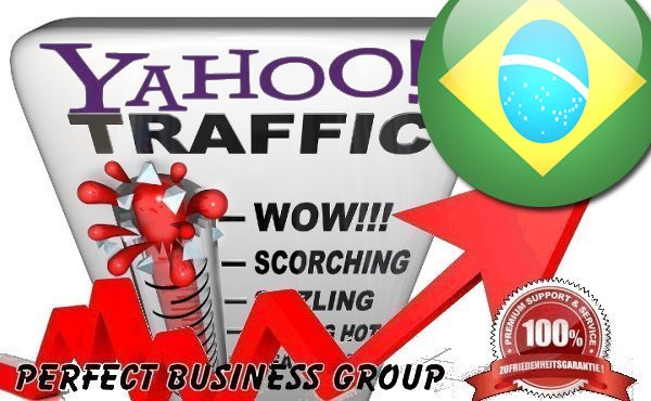Organic Visitors from Yahoo Brasil with your Keyword