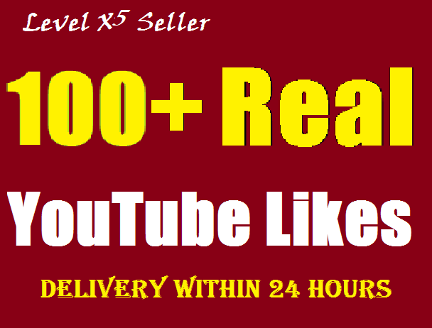 Add 100+ REAL & GENUINE YouTube likes