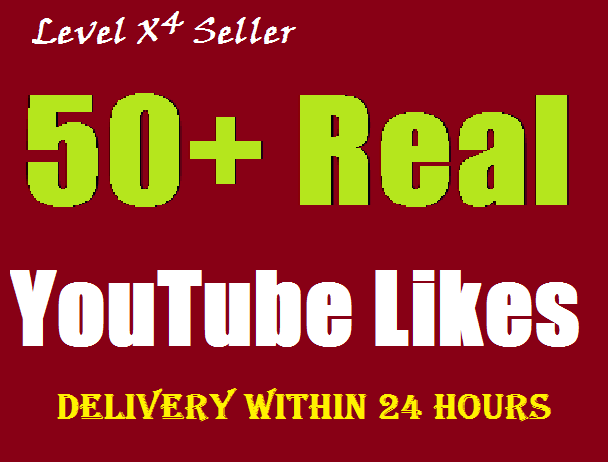 Add 50+ REAL & GENUINE YouTube likes