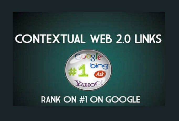 manually create 100 plus Contextual backlinks from High PR Web 2 Blogs