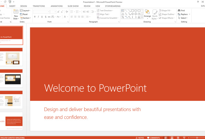 make attractive powerpoint presentation slide show for 5 seoclerks