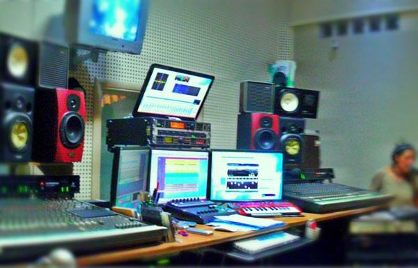 Professional audio mastering