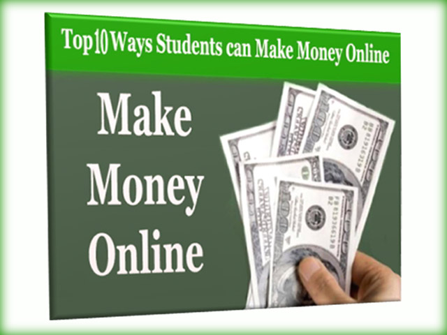 The Top 10 Ways Students can Make Money Online eBook