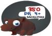 350 PR  4 backlinks with login credentials