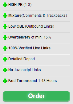 I will Create 100 High Quality/ High Pr Comment Backlinks