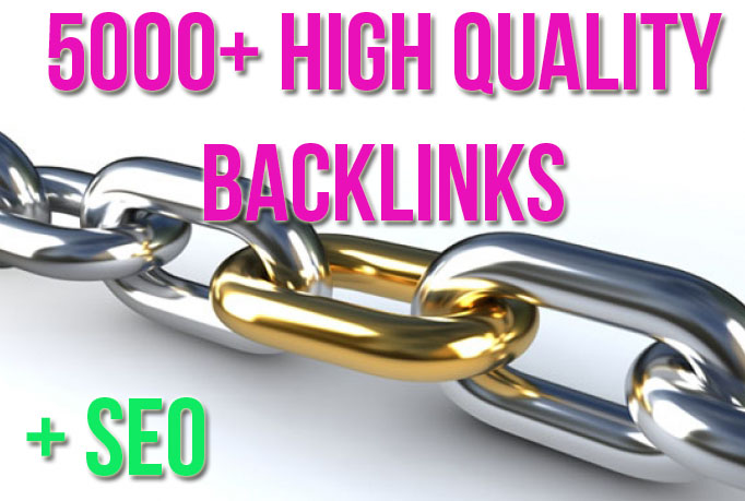 5000 High Quality Backlinks (Gov, Edu) + Ultimate SEO To You Website