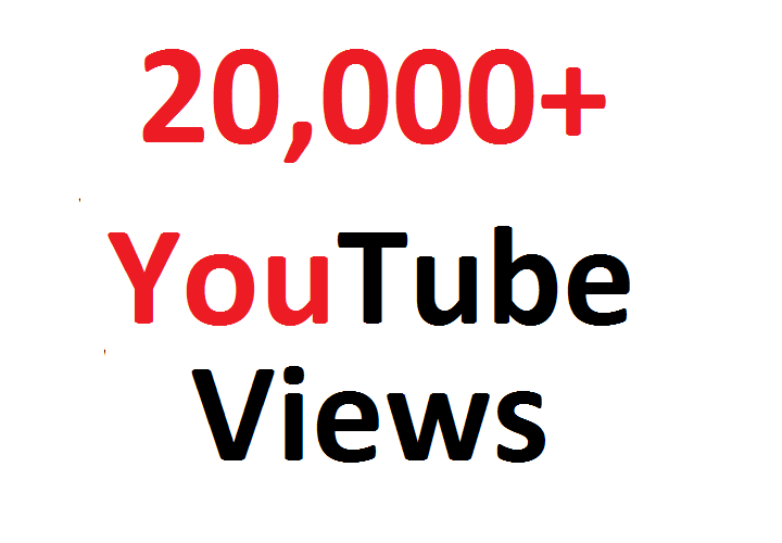 Add 20000 20K SAFE YouTube views Guaranteed