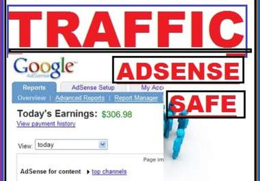 sent 50 000 TRAFFIC to your web/blog site with report
