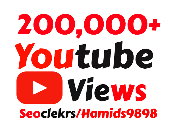 I will add 100,000+ High Quality YouTube Views + 500 Free Youtube Likes