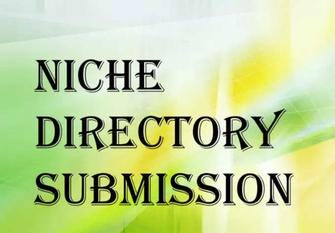 do 15 Niche Directories Submissions Manually