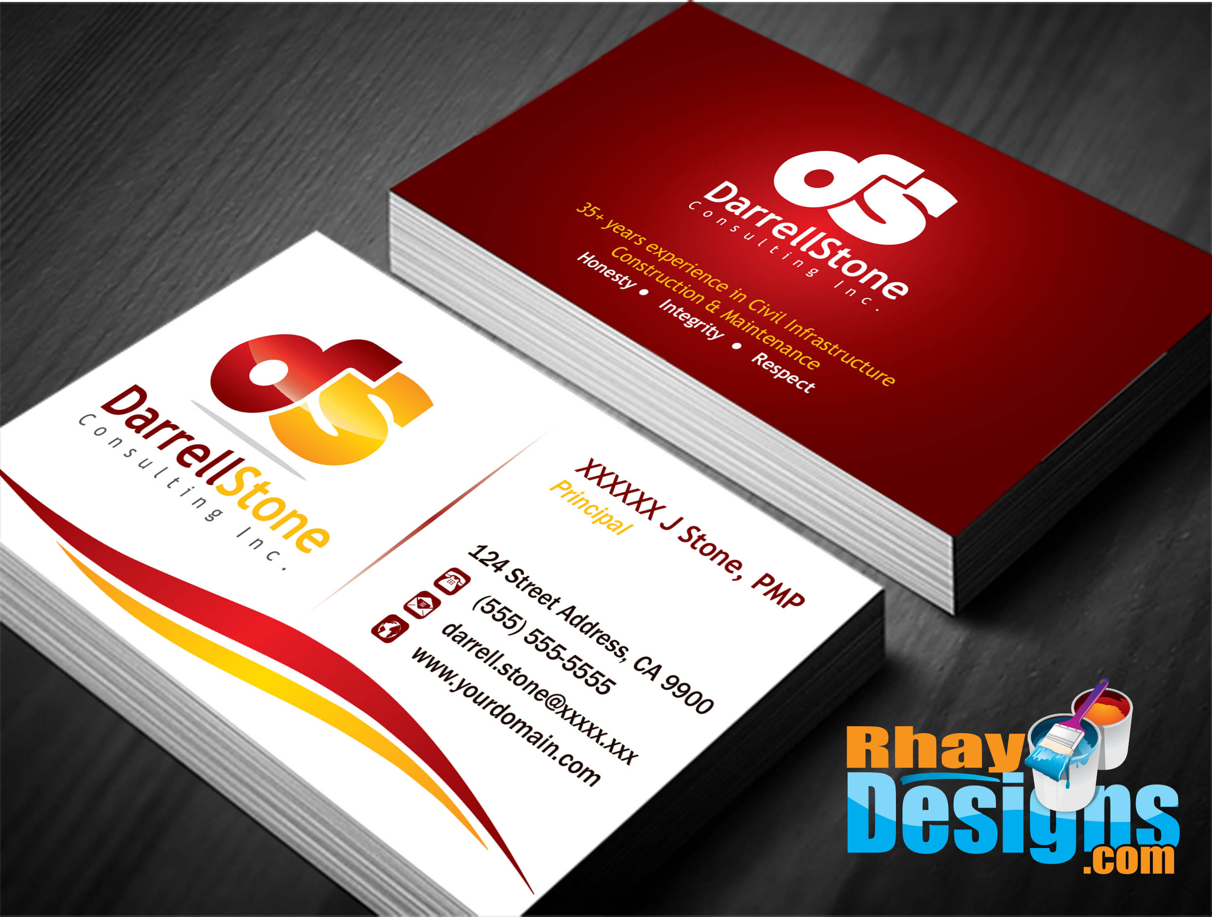 Adobe illustrator business card templates business card for Business card designer pro