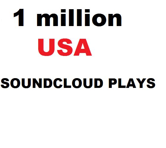 1 million usa soundcloud plays